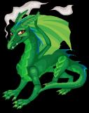 Green dragon static
