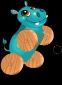 Wheels hippo an