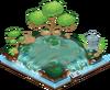 Tea Garden Pond