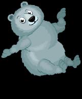Himalayan blue bear an