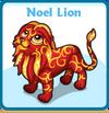 Noel lion card
