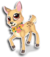 Goal flower fawn icon