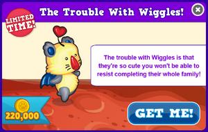 Wiggle modal