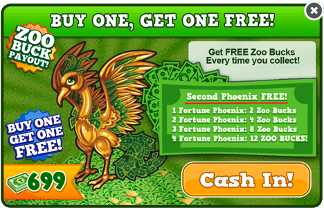 Fortune phoenix modal