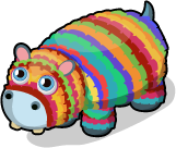 Pinata hippo single