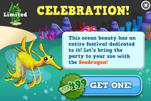 Sea dragon modal