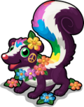 Sweet smelling skunk single