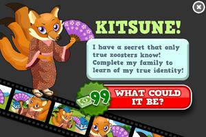 Kitsune animators modal