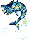 Starry dolphin an