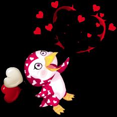 Sweetheart penguin an