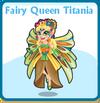 Fairy queen titania card