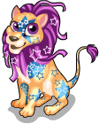 Party lion static
