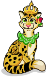 Clout temple leopard static