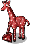 Garnet giraffe single
