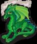 Green dragon single