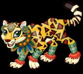 Aztec jaguar single