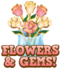 Flowers & gems hud