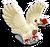 Goal chocolate dove icon