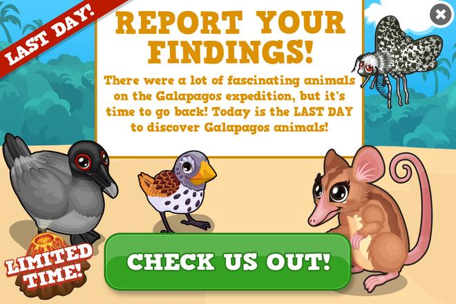 Galapagos last modal