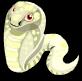 Albino cobra static