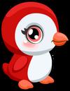 Cubby penguin candycane single