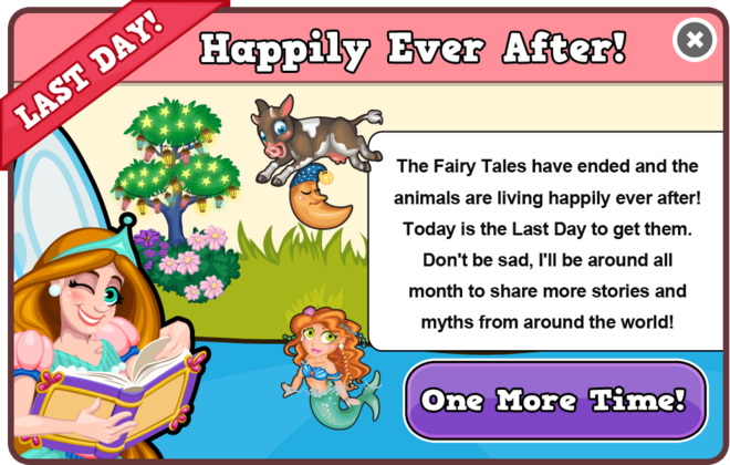 Fairytale last modal