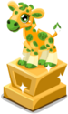 Cubby Bucks Giraffe Statue