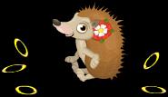 Tudor rose hedgehog an