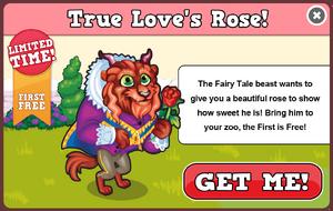 Fairy tale beast modal