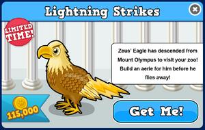 Zeus eagle modal