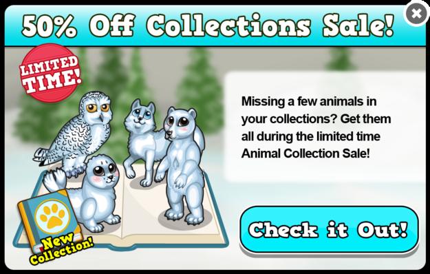 Arctic collection modal