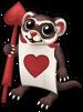 Card soldier ferret single