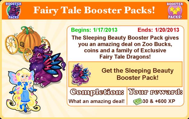 Fairytale dragon goal modal