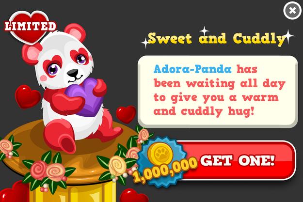 Adora-Panda modal
