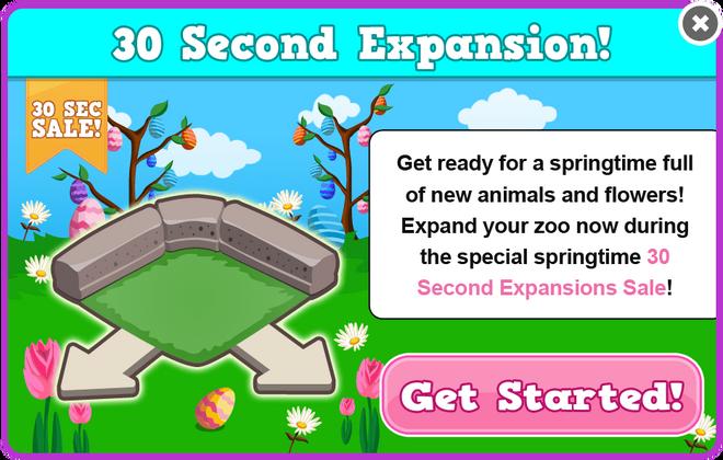 Easter 2013 expansion sale