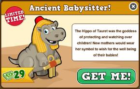Hippo of tauret modal