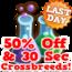 50 off crossbreeds last hud
