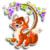 Goal fox and the grapes icon