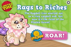 Ragdoll lion modal