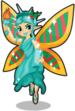 Statue of liberty fairy single