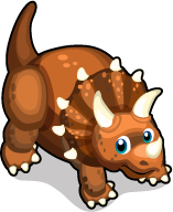 Triceratops single