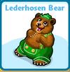 Lederhosen bear card