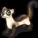 Black footed ferret single