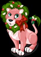 Christmas lion single