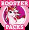 Goal rose unicorn hud
