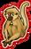 Goal spider monkey icon