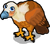 Griffon vulture single