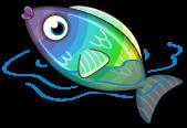 Rainbow fish single