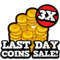 3x coin sale last hud
