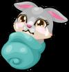 Bunny baby mile1 single